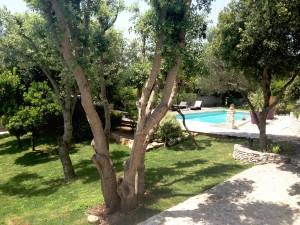 Résidence avec piscine et parc à Bonifacio