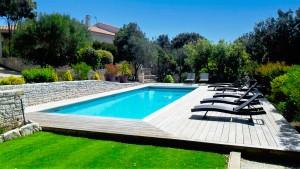 Chambres et appartements avec piscine à Bonifacio